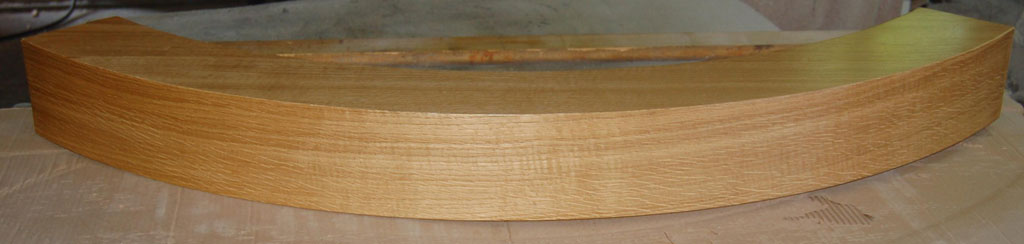 Belka kominkowa drewniana
