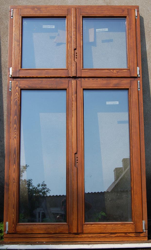 Okno drewniane do kamiennicy