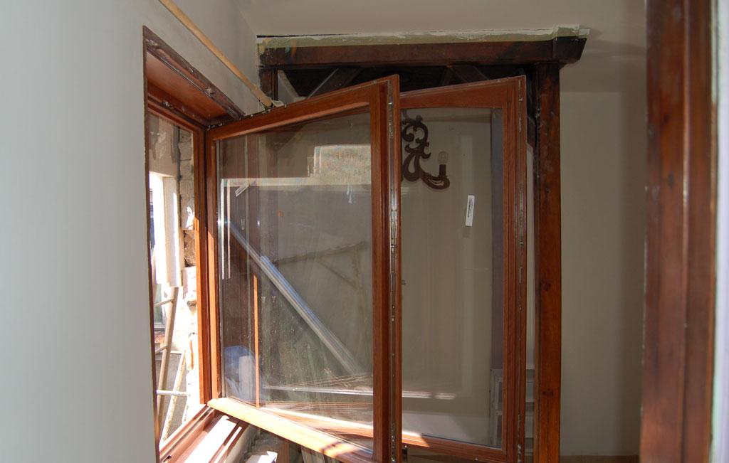 Okno skrzynkowe dÄ™bowe