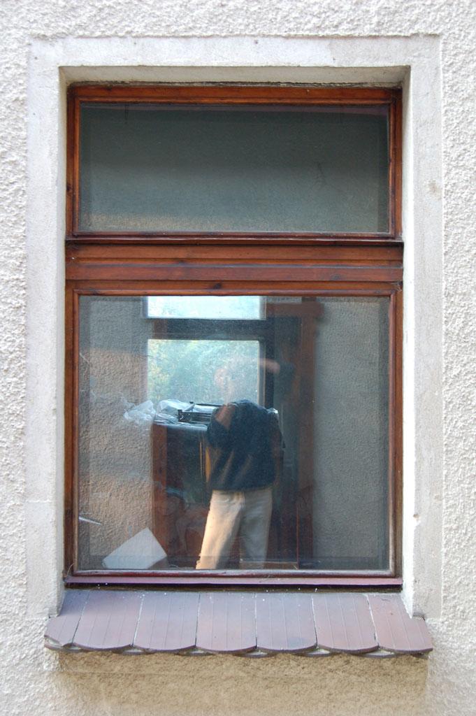 Okno skrzynkowe sosnowe